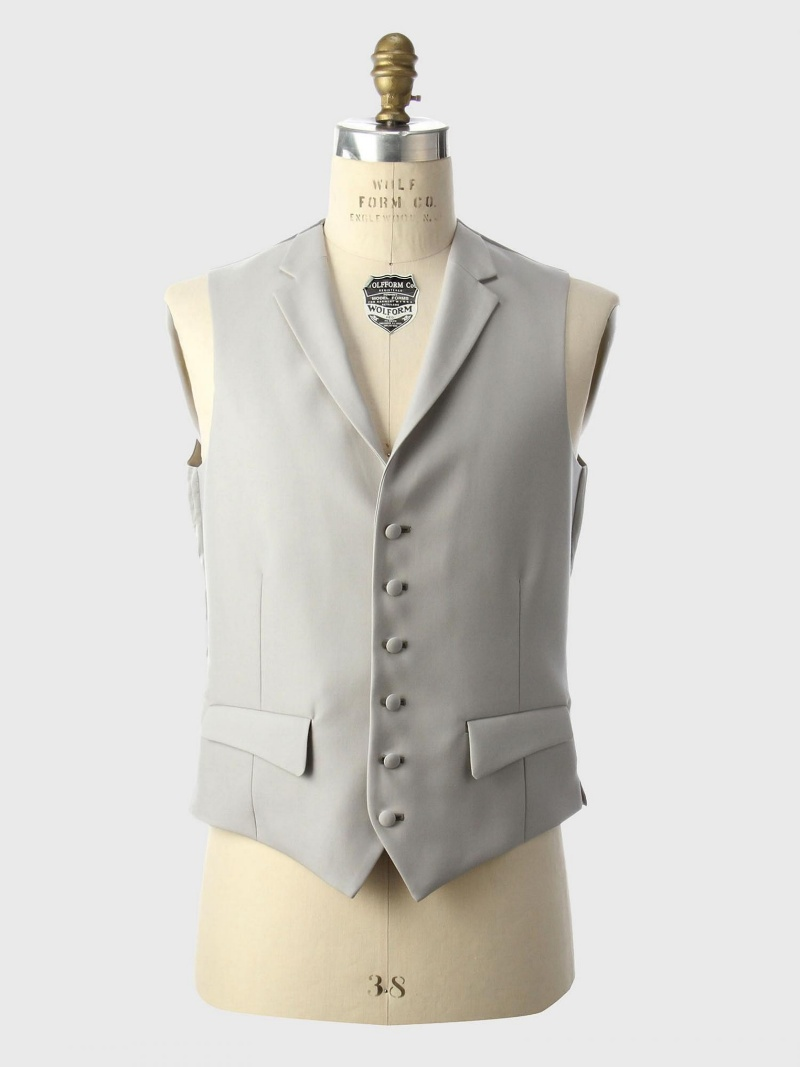 [Rakuten Fashion]UDBS6Bベスト UNITED ARROWS ユナイテッドアローズ ビジネス/フォーマル スーツ グレー【送料無料】