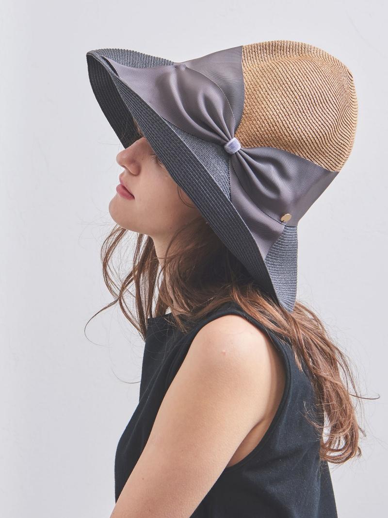 [Rakuten BRAND AVENUE]<Athena New York(アシーナ ニューヨーク)>RISAKO ツートーン ハット UNITED ARROWS ユナイテッドアローズ 帽子/ヘア小物【送料無料】