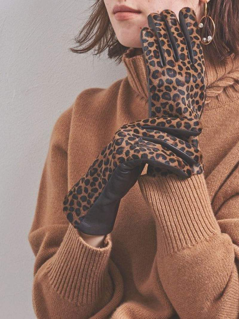 [Rakuten Fashion]UBCBLEOHAIRLTRT/Pグローブ UNITED ARROWS ユナイテッドアローズ ファッショングッズ 手袋 ブラウン【送料無料】