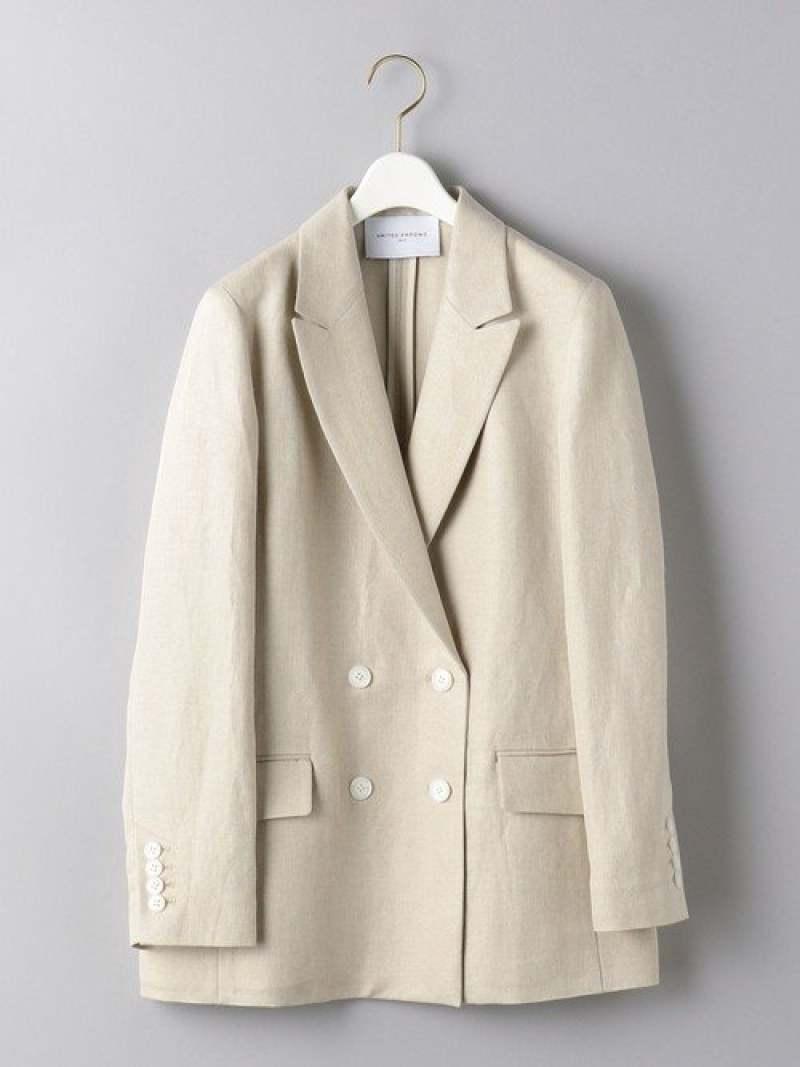 [Rakuten Fashion]UWSCLI/R4Bテーラードジャケット UNITED ARROWS ユナイテッドアローズ コート/ジャケット テーラードジャケット ホワイト ネイビー【送料無料】