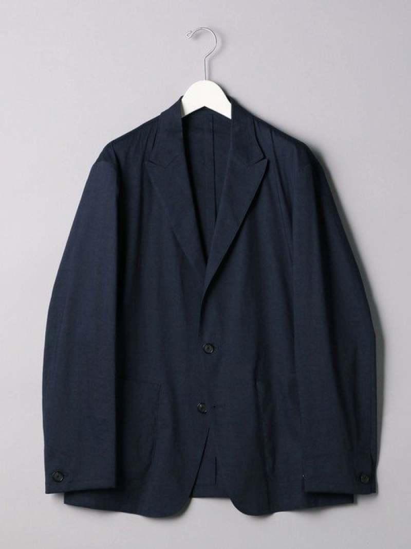[Rakuten Fashion]<UNITEDARROWS>ピークドラペル2Bジャケット UNITED ARROWS ユナイテッドアローズ コート/ジャケット テーラードジャケット ネイビー ブラック【送料無料】