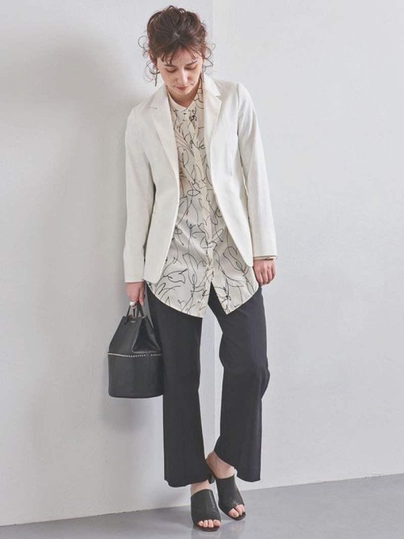 [Rakuten Fashion]UBCBドビーテーラードジャケット UNITED ARROWS ユナイテッドアローズ コート/ジャケット テーラードジャケット ホワイト ブラック ベージュ【送料無料】