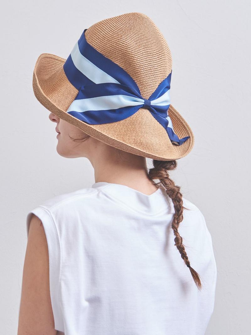 [Rakuten BRAND AVENUE]【別注】<Athena New York(アシーナ ニューヨーク)>RISAKO TANBODY ストライプ ハット UNITED ARROWS ユナイテッドアローズ 帽子/ヘア小物【送料無料】