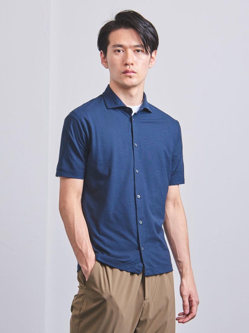 [Rakuten BRAND AVENUE]<ZANONE(ザノーネ)> オープンカラーシャツ UNITED ARROWS ユナイテッドアローズ カットソー【送料無料】