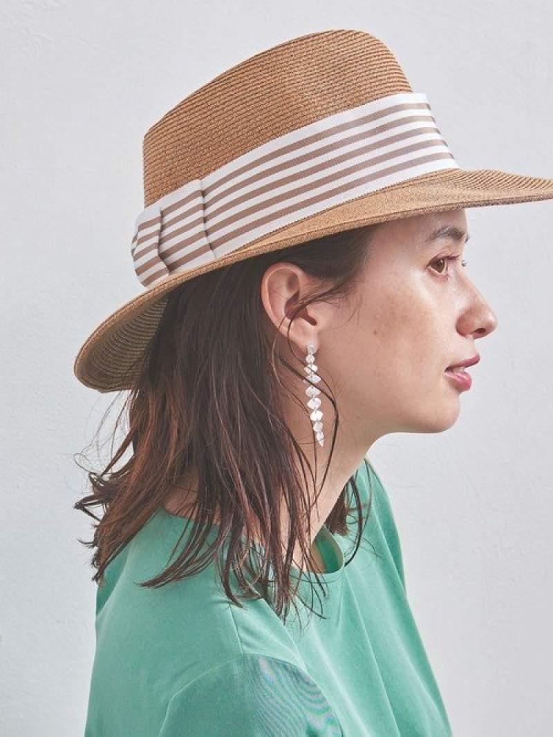 [Rakuten Fashion]【別注】<AthenaNewYork(アシーナニューヨーク)>FEDORAハット UNITED ARROWS ユナイテッドアローズ 帽子/ヘア小物 ハット ベージュ ブラック【送料無料】