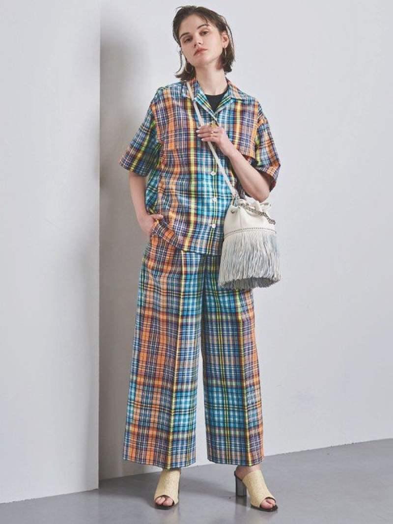 [Rakuten Fashion]【SALE/40%OFF】UGMSCチェックオープンカラーシャツ UNITED ARROWS ユナイテッドアローズ シャツ/ブラウス 半袖シャツ【RBA_E】【送料無料】