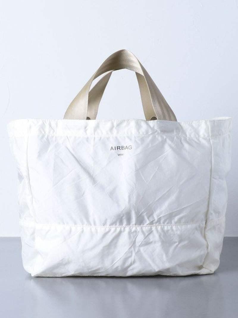 [Rakuten Fashion]<WACCOWACCO(ワッコワッコ)>トートバッグM UNITED ARROWS ユナイテッドアローズ バッグ トートバッグ ホワイト【送料無料】