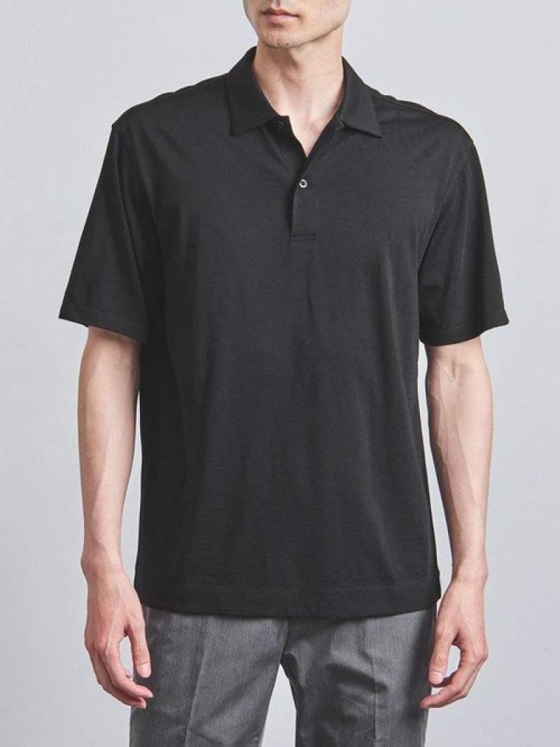 [Rakuten Fashion]<SOVEREIGN(ソブリン)>【REDA】アクティブウールポロシャツ UNITED ARROWS ユナイテッドアローズ カットソー Tシャツ ブラック グレー ネイビー【送料無料】