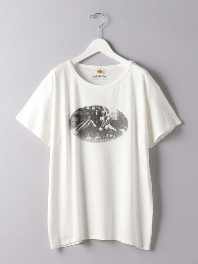 [Rakuten Fashion]<HOPPER(ホッパー)>DRUG/SCAMERATEE UNITED ARROWS ユナイテッドアローズ カットソー Tシャツ ホワイト【送料無料】