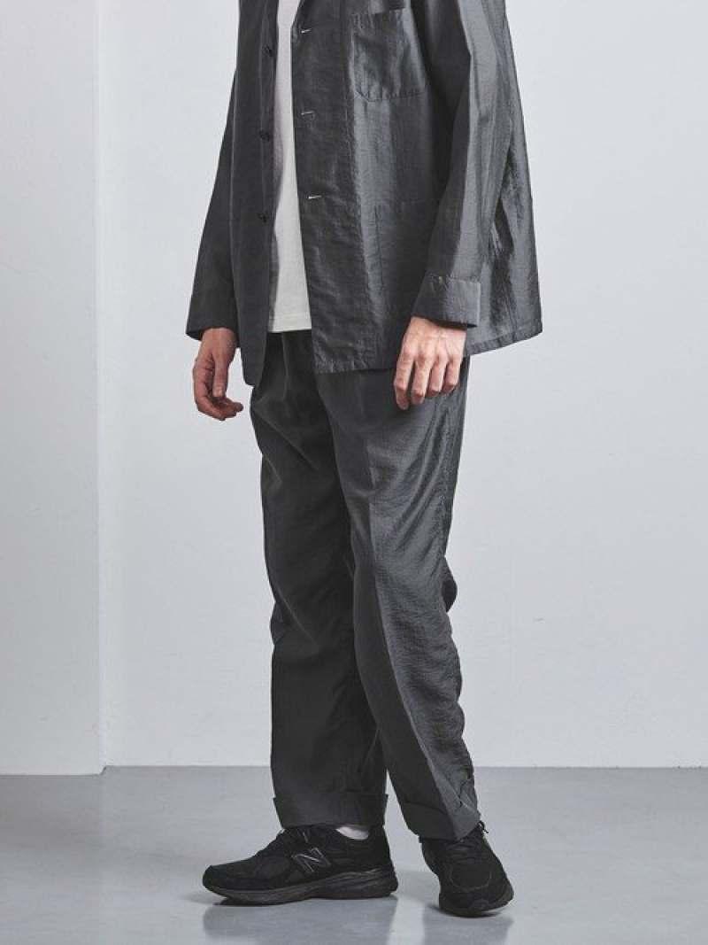 [Rakuten Fashion]【SALE/40%OFF】<District(ディストリクト)>LY/N2プリーツワイド UNITED ARROWS ユナイテッドアローズ パンツ/ジーンズ フルレングス グレー【RBA_E】【送料無料】
