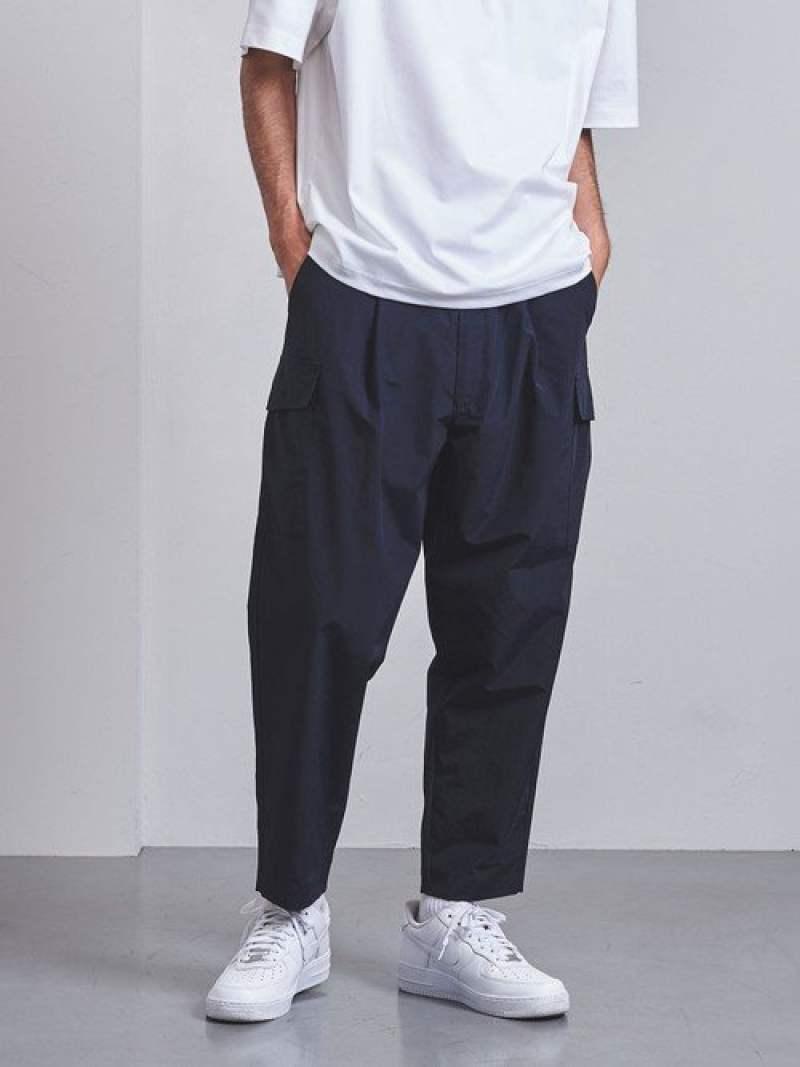 [Rakuten Fashion]<ENROUTE(アンルート)>コットンナイロンタッサー6ポケットバックゴム EN ROUTE ユナイテッドアローズ パンツ/ジーンズ フルレングス ネイビー ブラック【送料無料】