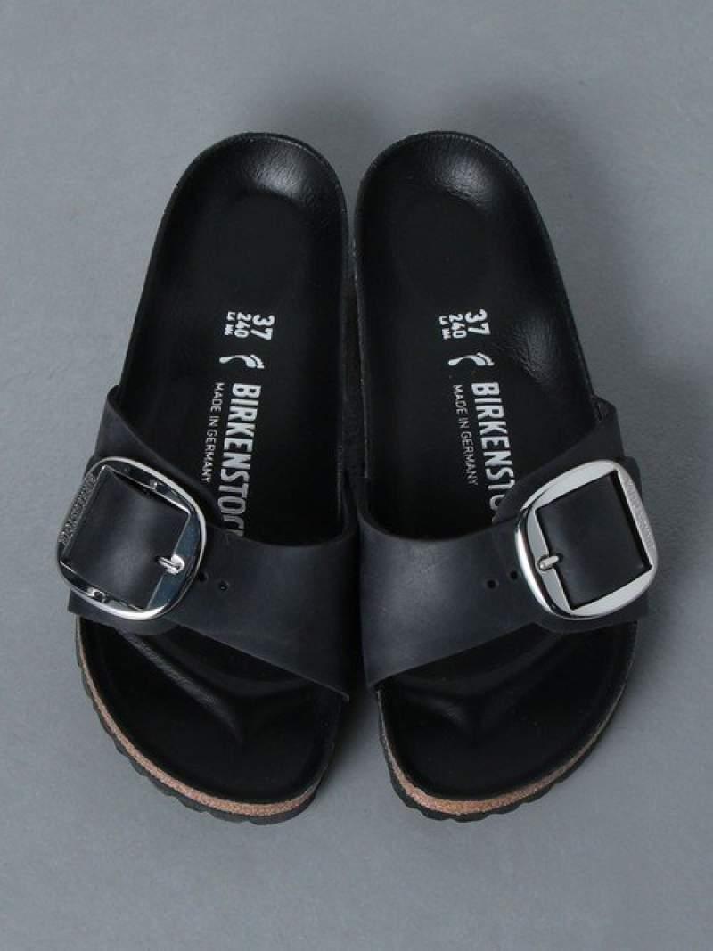 [Rakuten Fashion]<BIRKENSTOCK(ビルケンシュトック)>BIGBUCKLEサンダル UNITED ARROWS ユナイテッドアローズ シューズ サンダル/ミュール ブラック【送料無料】