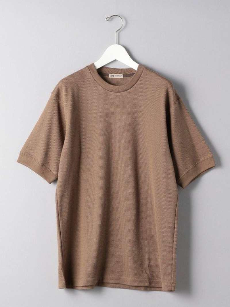[Rakuten Fashion]<SOVEREIGN(ソブリン)>CTN/SIサーマルTEE UNITED ARROWS ユナイテッドアローズ カットソー Tシャツ ブラウン ブラック【送料無料】