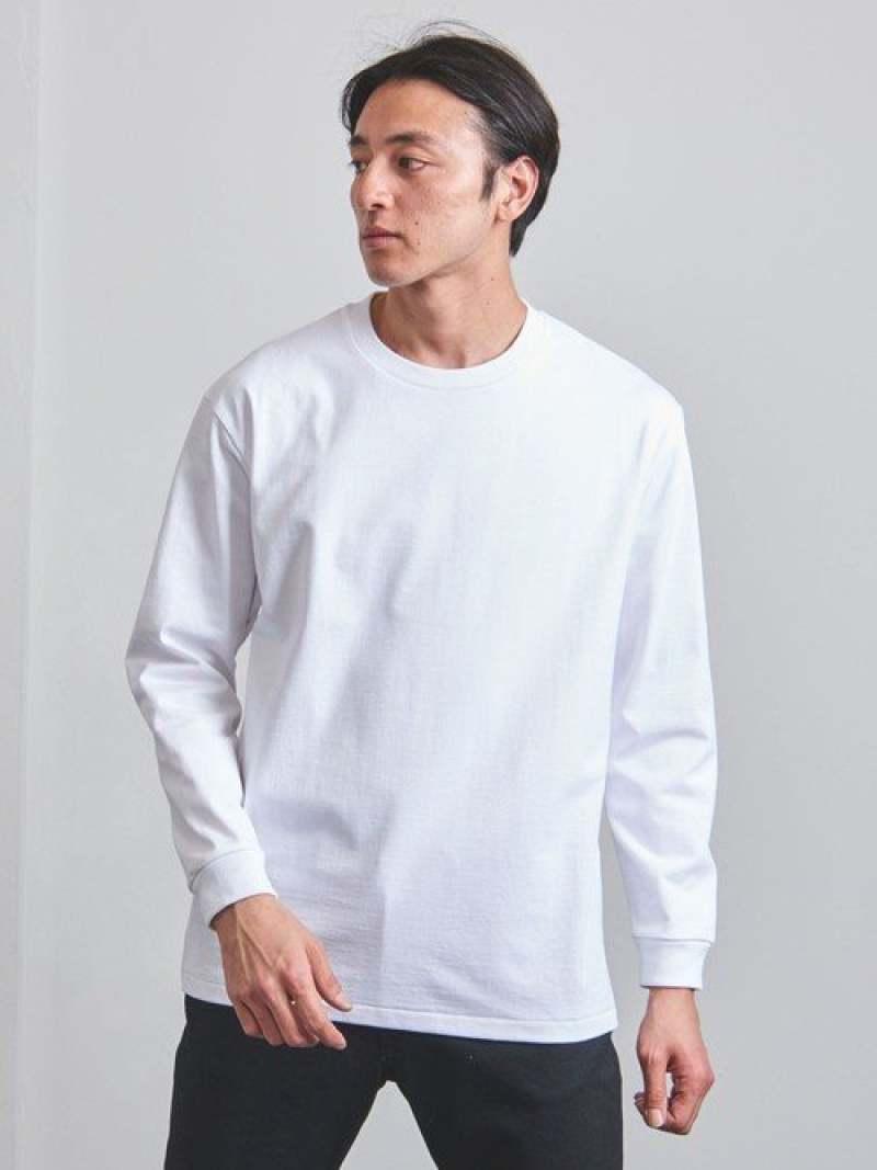 [Rakuten Fashion]<MXP(エムエックスピー)>ビックポケットロングスリーブTシャツ UNITED ARROWS ユナイテッドアローズ カットソー Tシャツ ホワイト【送料無料】