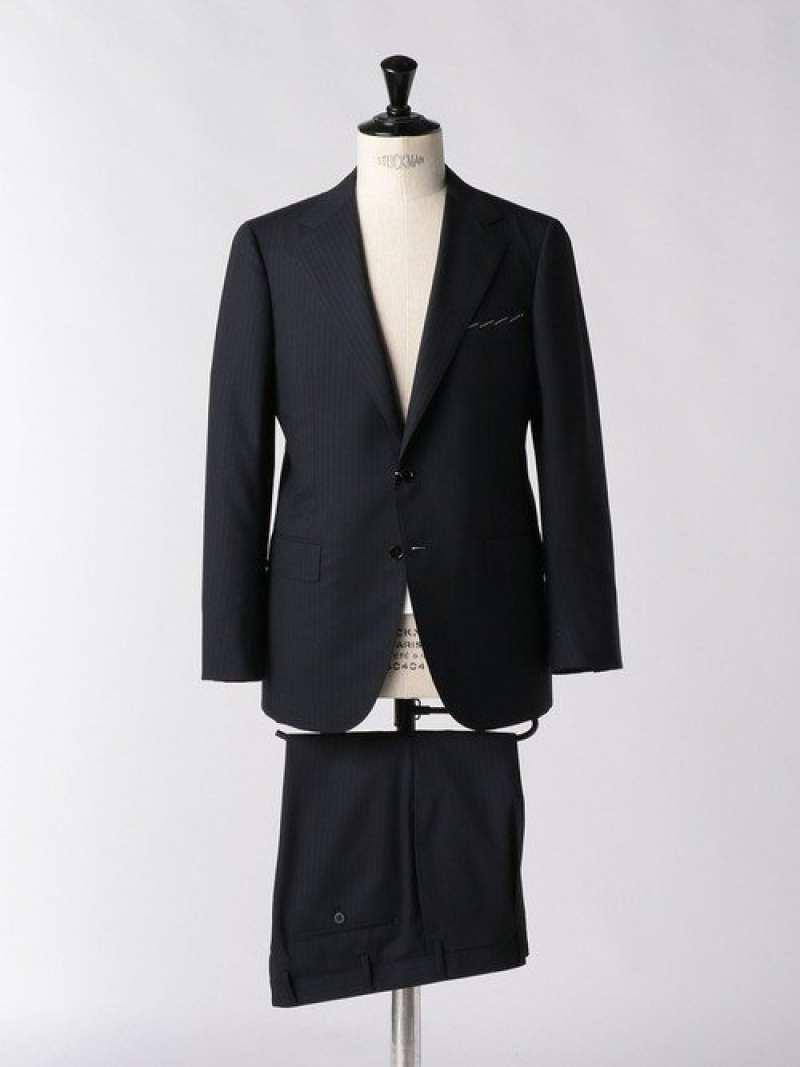 [Rakuten Fashion]<SOVEREIGN(ソブリン)>BREEZYシャドウストライプ2Bスーツ UNITED ARROWS ユナイテッドアローズ ビジネス/フォーマル スーツ ネイビー【送料無料】