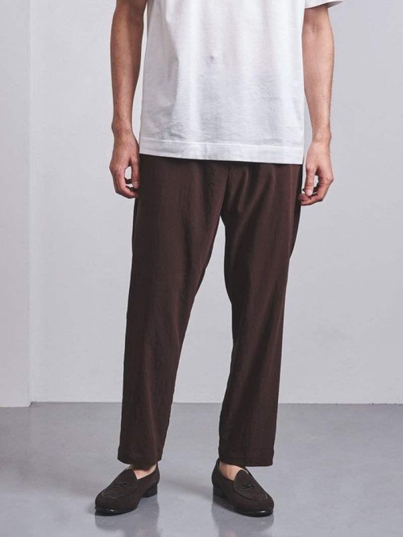 [Rakuten Fashion]<UNITED ARROWS> TA/VI/LI ギャザー パンツ UNITED ARROWS ユナイテッドアローズ ビジネス/フォーマル セットアップスーツ ブラウン ブラック【送料無料】