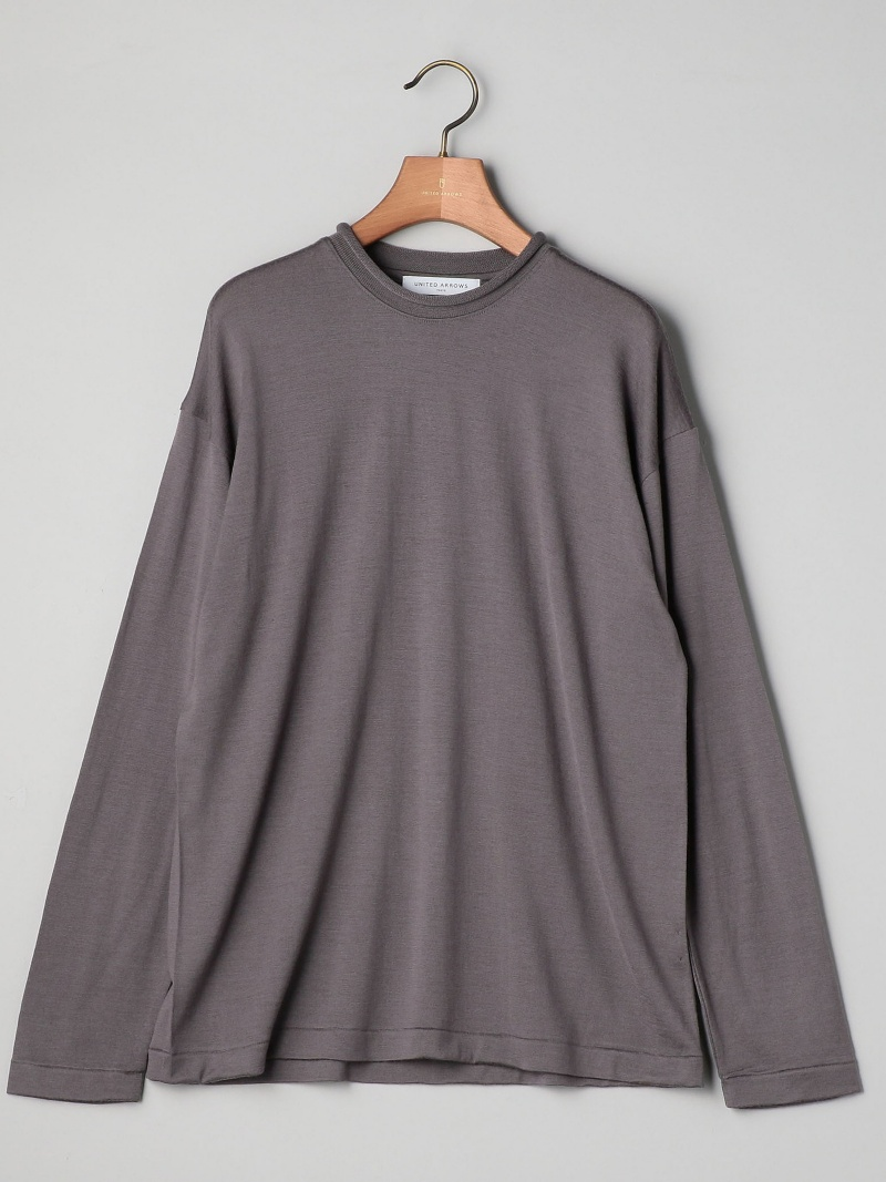 [Rakuten BRAND AVENUE]UAST WO ロールネック Tシャツ UNITED ARROWS ユナイテッドアローズ カットソー【送料無料】