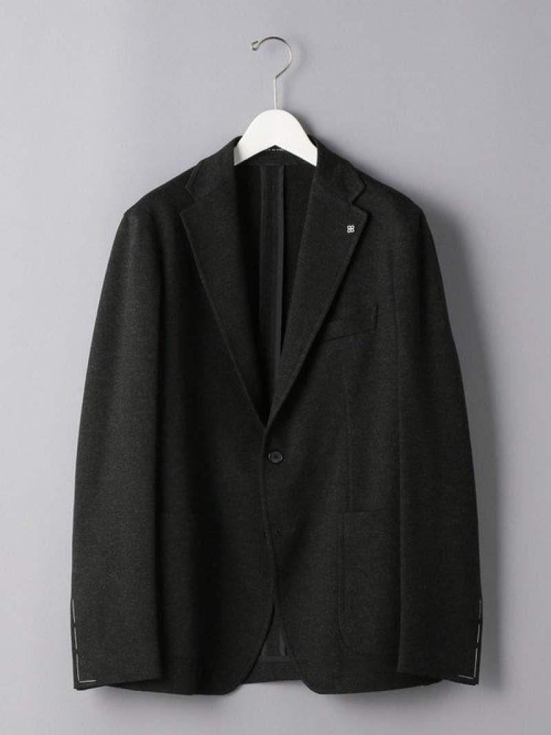 [Rakuten Fashion]<TAGLIATORE (タリアトーレ) > ジャージー 2B ジャケット UNITED ARROWS ユナイテッドアローズ ビジネス/フォーマル セットアップスーツ グレー【送料無料】