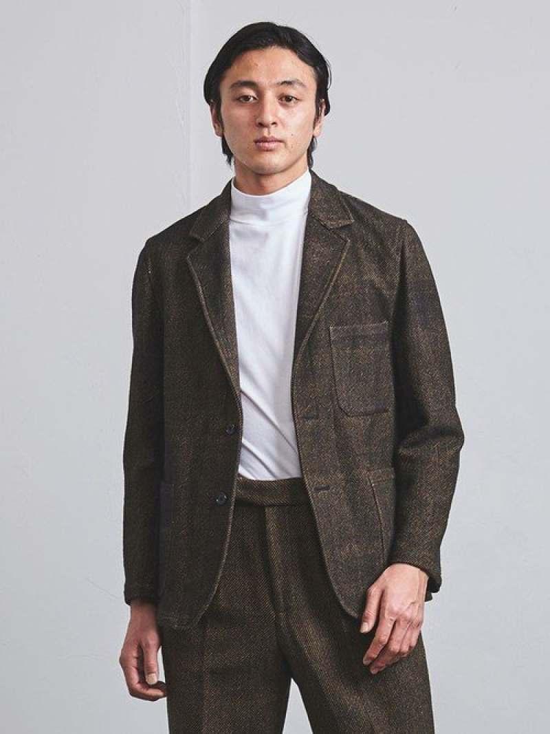 [Rakuten Fashion]<TEGEUNITEDARROWS(テゲユナイテッドアローズ)>ツイル3パッチポケット UNITED ARROWS ユナイテッドアローズ コート/ジャケット テーラードジャケット ベージュ【送料無料】