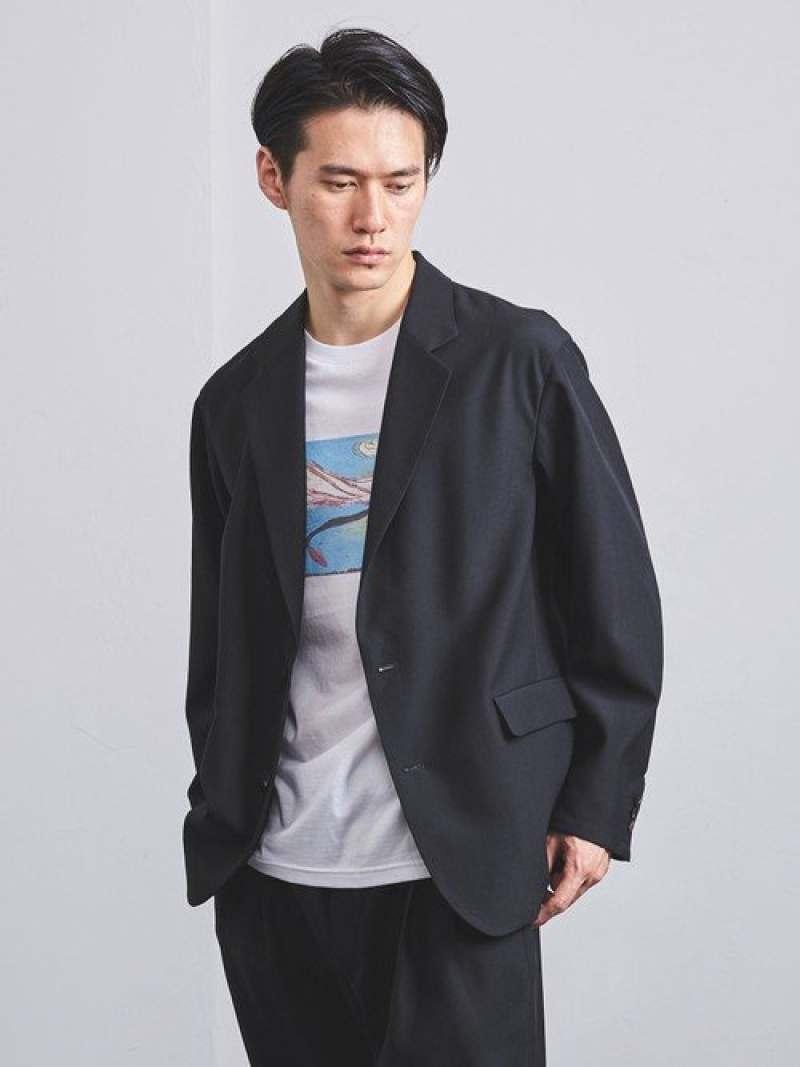 [Rakuten Fashion]<UNITEDARROWS>ヴィストウール2Bジャケット UNITED ARROWS ユナイテッドアローズ コート/ジャケット テーラードジャケット ネイビー ブラック【送料無料】