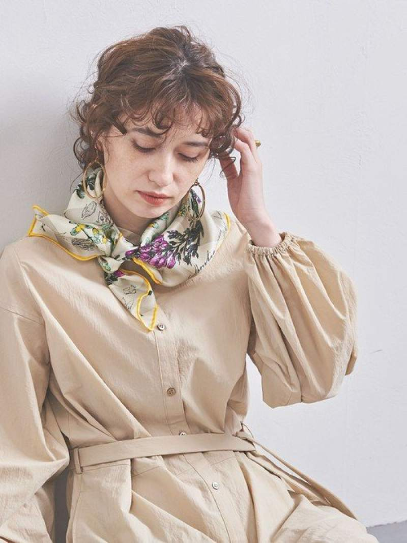 [Rakuten Fashion]<manipuri(マニプリ)>シルクスカーフ20SS1 UNITED ARROWS ユナイテッドアローズ ファッショングッズ スカーフ/バンダナ ホワイト ピンク グリーン ネイビー パープル【送料無料】