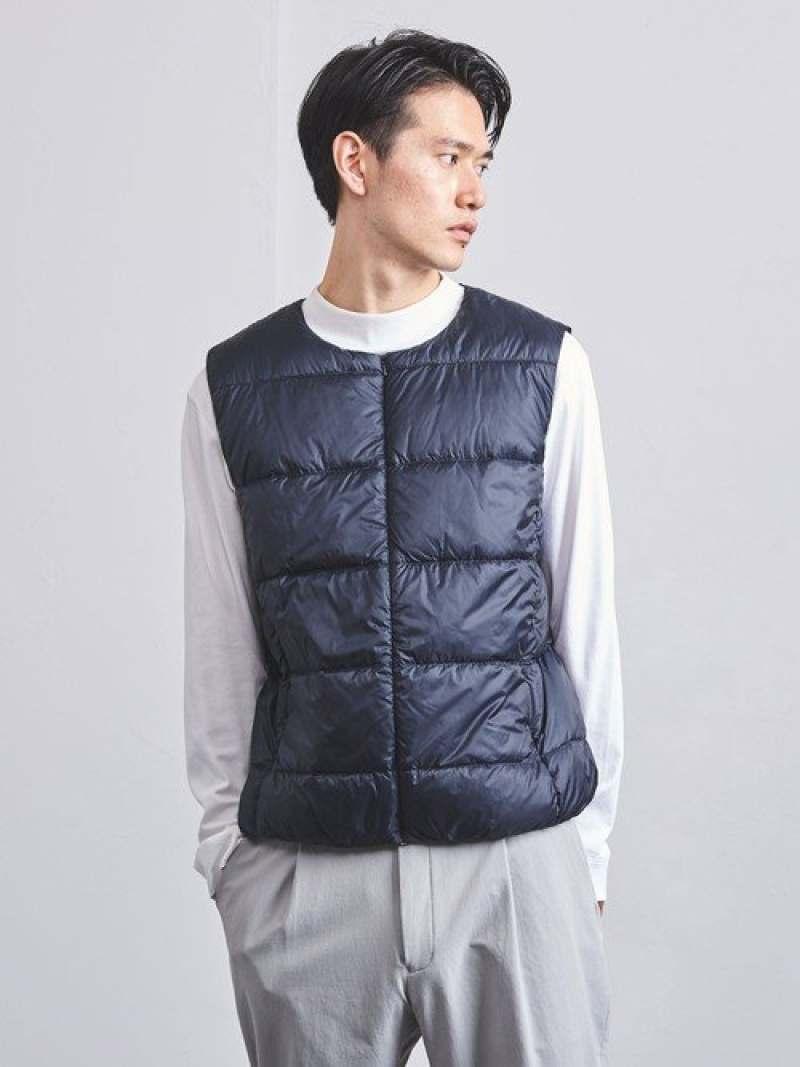 [Rakuten Fashion]<PYRENEX(ピレネックス)>BIRD UNITED ARROWS ユナイテッドアローズ コート/ジャケット アウターベスト パープル ブラック ブルー【送料無料】