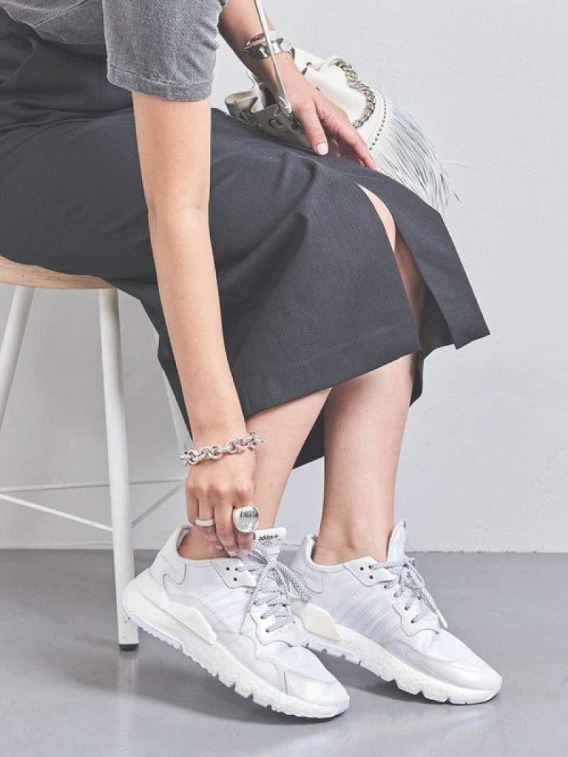 UNITED 国内在庫 ARROWS LTD. OUTLET レディース シューズ ユナイテッドアローズ アウトレット SALE 30%OFF adidas Fashion W ホワイト 送料無料 JOGGER スニーカー NITE RBA_E Rakuten アディダス スリッポン 正規品送料無料