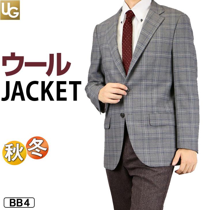ジャケット メンズ 秋冬ジャケット 上着 格子 チェック ブレザー ビジネス 215361/215362【送料無料】