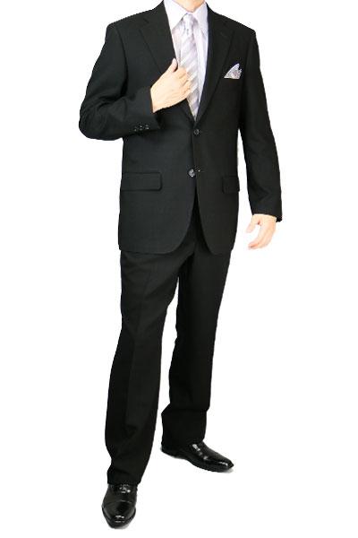 礼服 メンズ 夏 男性 サマー シングル ワンタック レギュラー ブラックフォーマル フォーマルスーツ ブラックスーツ 6300【1位獲得】 夏用 喪服【バーゲン】