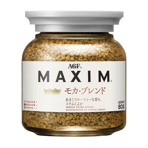 AGF MAXIM(マキシム)インスタントコーヒーモカ・ブレンド 瓶 80g 24瓶セット