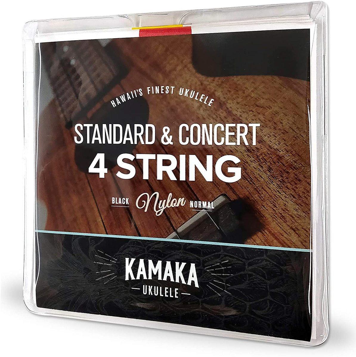 カマカ ウクレレ弦 ソプラノ コンサート KAMAKA クリアランスsale 期間限定 S-1 セット Standard 送料無料 Concert 定番スタイル 4 Strings