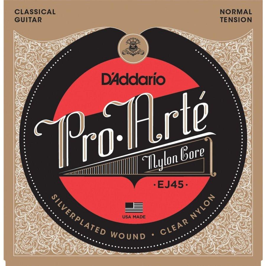 ダダリオ クラシックギター弦 プロアルテ D'Addario 2020春夏新作 通販 激安 Silver Normal Clear EJ45 国内正規品
