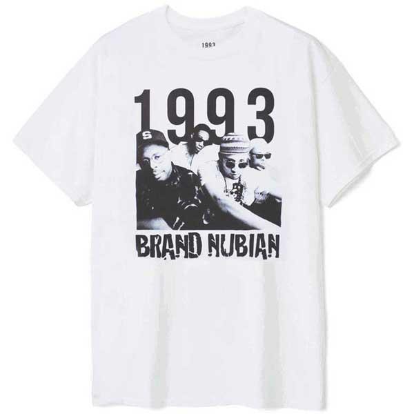 【1993 DESIGNED WORLD HIPHOP】BRAND NUBIAN PHOTO TEE(WHITE)