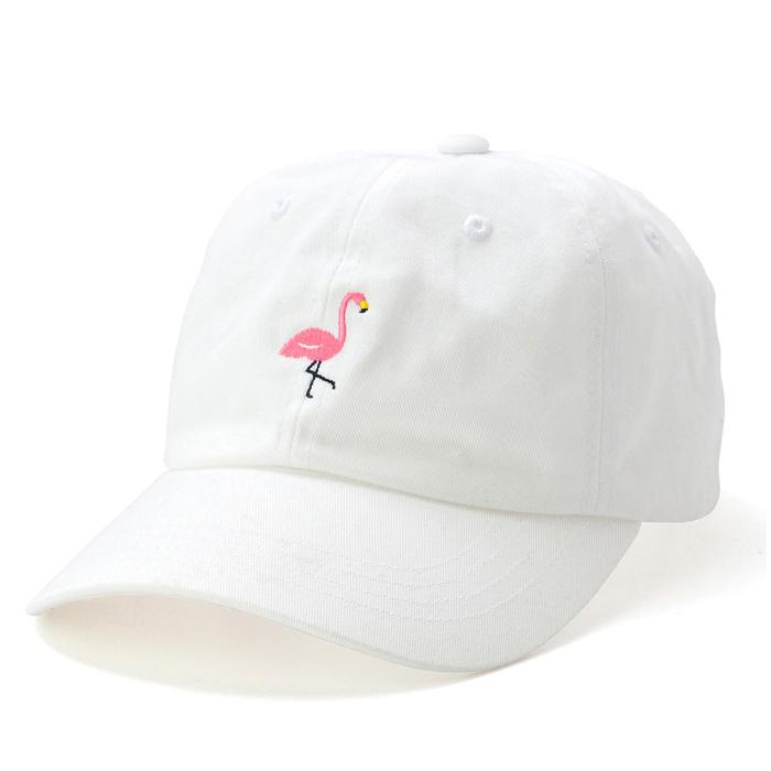 【DL HEADWEAR】FLAMMA LOW PROFILE CAP(WHITE)