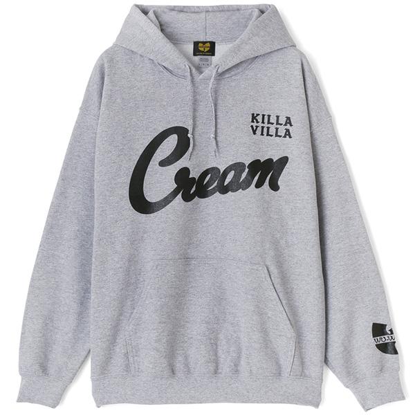【WU-WORLD(ウータン・クラン)】KILLA VILLA HOODIE(HEATHER GREY) RZA RAEKWON GHOST FACE METHOD MAN O.D.B スウェット フーディ RAP TEES ラップT ヒップホップ ストリートファッション B系 ビッグサイズ BIGサイズ 大きいサイズ