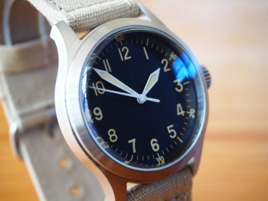ミリタリー ウォッチ カンパニー MWC時計 メンズ 腕時計 A-11 ハイブリッドクォーツ ハック機能 スイープセカンド 38mm 第二次大戦モデル アメリカ軍