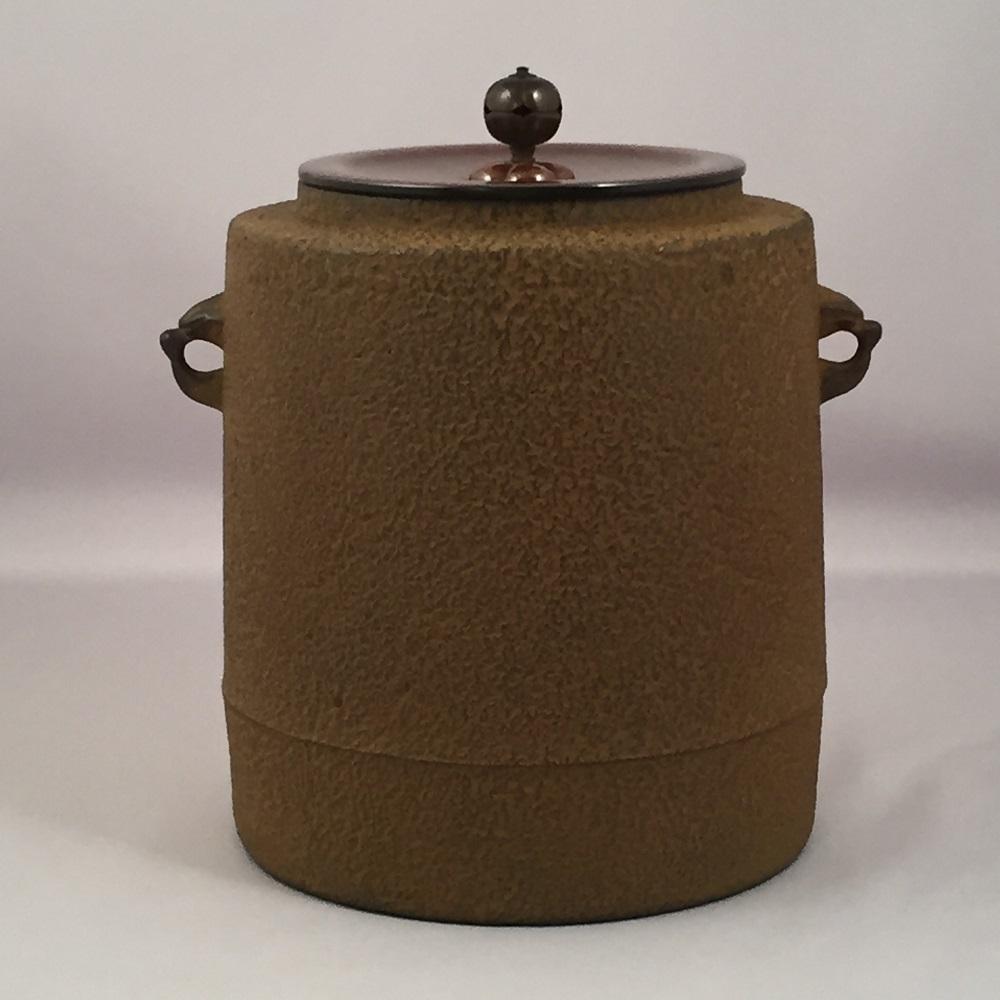 【オンライン作家展】十三代 和田美之助作 東陽坊釜 風炉用 茶道具