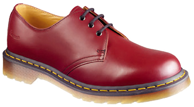 Dr.Martens 1461Z 3Eyelet Gibson Shoe Cherry Red【特別価格!】