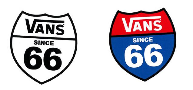 日本未入荷 VANS 66ステッカー! 【メール便対応】 VANS 66 STICKER!