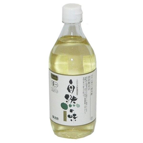 国産有機栽培米100%使用の純米酢 自然の味そのまんま お金を節約 国産 日本正規代理店品 有機米の純米酢 500ml
