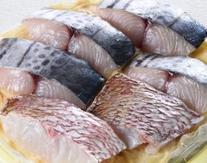 鯛とさわらの味噌漬