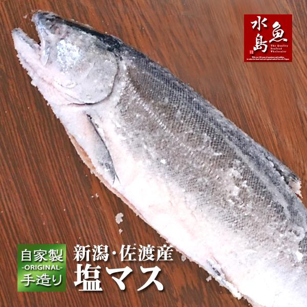 厳選自家製 (訳ありセール 格安) 塩マス サクラマス 本鱒 返品不可 2.0~2.9kg
