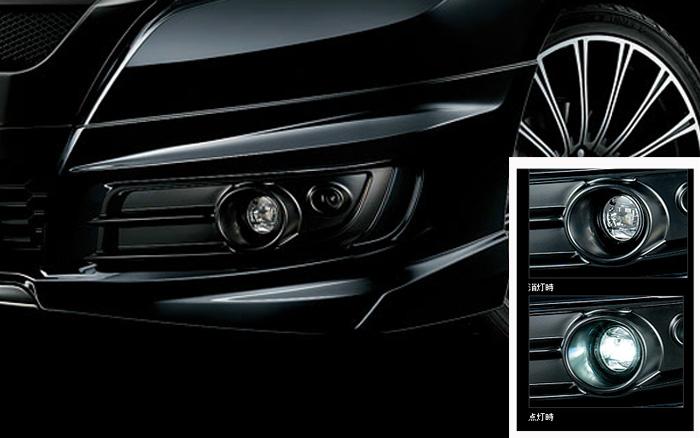 無限 / MUGEN LEDフォグライト、アタッチメントセット オデッセイ アブソルート RC1/RC2 2013/11~(車体番号100-)用