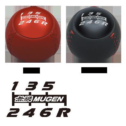 MUGEN / 無限 レザーシフトノブ 6MT用  シビック タイプR FK2 用