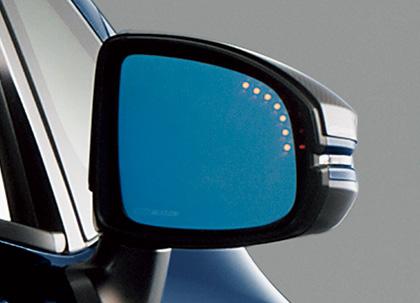 無限 / MUGEN SHUTTLE シャトル GP7/GP8/GK8/GK9 2015/5~(車体番号100-)用  LEDブルーミラー 76200-XMK-K0S0