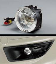 無限(MUGEN)LEDフォグライト、取り付けアタッチメントセットFit SHUTTLE(フィット シャトル) 2011年6月~標準フォグライト装備車用