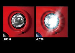 無限 / MUGEN LEDフォグライト、アタッチメントのセット  (バンパータイプ) N-ONE JG1/JG2 2012/11~ 車体番号100- 、200-
