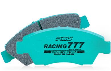 スポーツパッドの5倍以上の耐摩耗性 Projectμ プロジェクトミュー Racing777 フロント トリプルセブン ブレーキパッド スピード対応 全国送料無料 卸直営 レーシング777