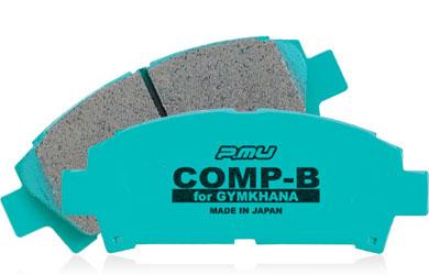 Projectμ(プロジェクトミュー) COMP-Bジムカーナ(コンプBジムカーナ)フロント ブレーキパッド