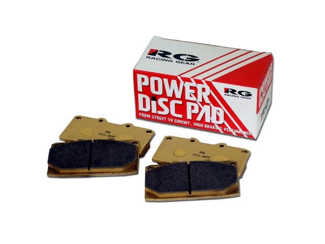 RG(レーシングギア) パワーディスクブレーキパッド タイプ80Rサーキット向けに開発  リア用